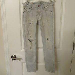 POLO RALPH LAUREN 'TOMPKINS SKINNY' JEANS SIZE 25